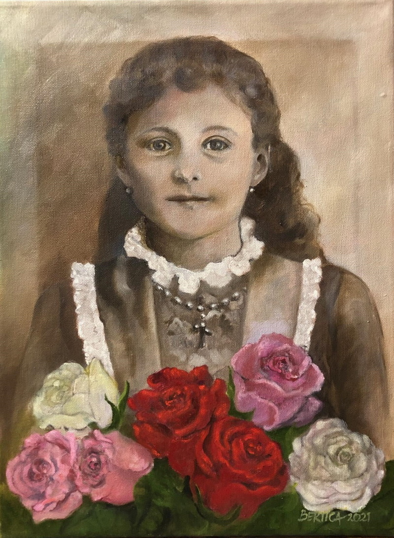 Roses For a Young Saint