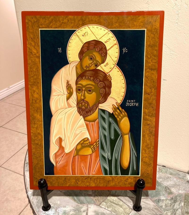 St. Joseph and Child Jesus