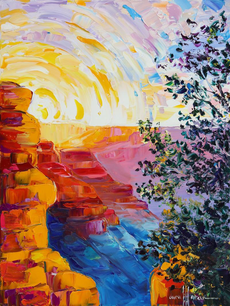 Cascade of Color