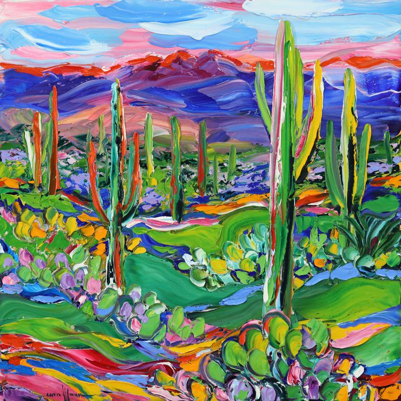 Decorated Desert