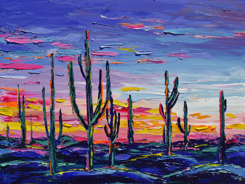 Desert Watercolor