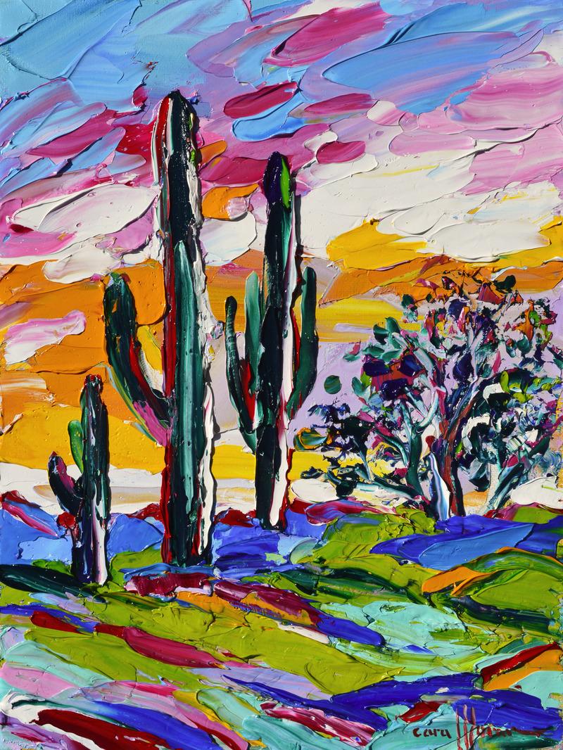 Early Morning Saguaro