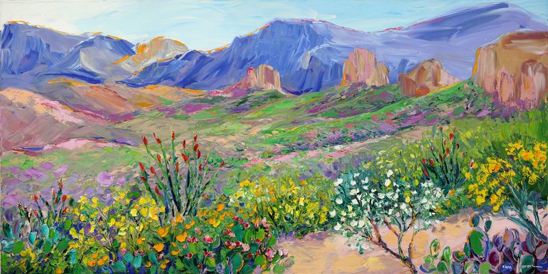 Hillside Blooms