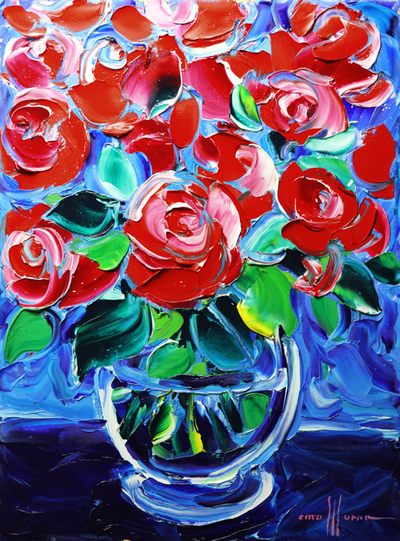 Paint the Roses Red