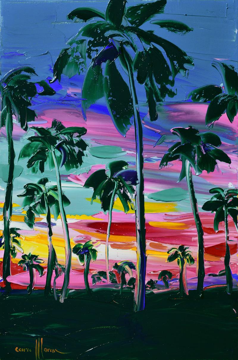 Pina Colada Sunset