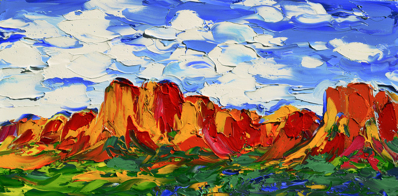 Red Rock, Blue Sky