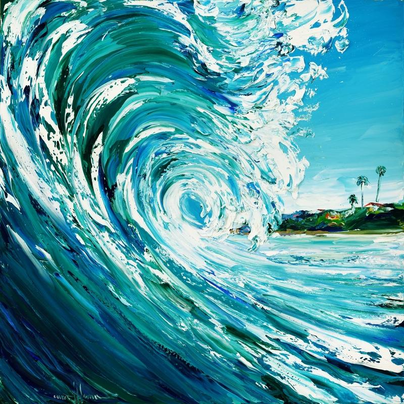 Shimmering Surf