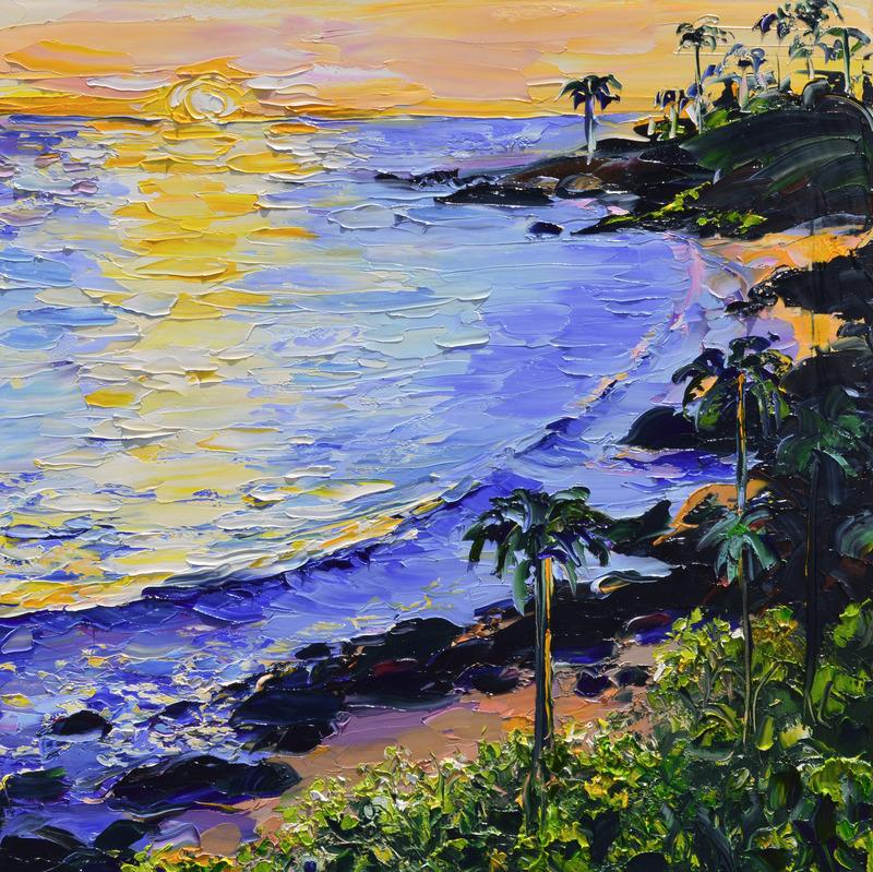 Sunset on Laguna