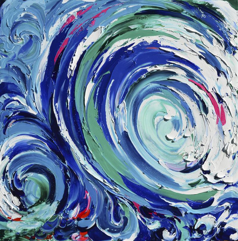 Swells of Blue