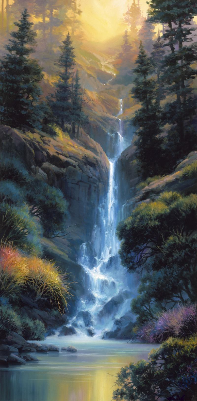 Kaibab Canyon Falls