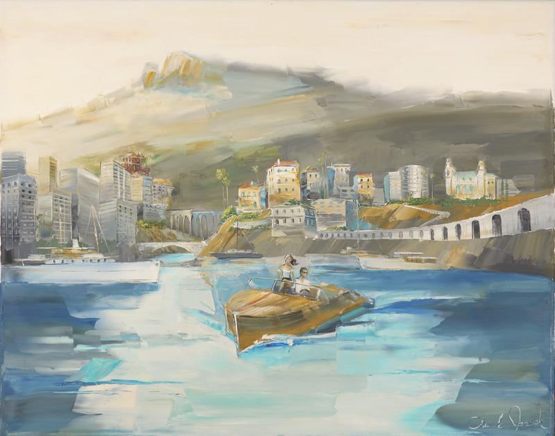Cruising the Monte Carlo Harbor
