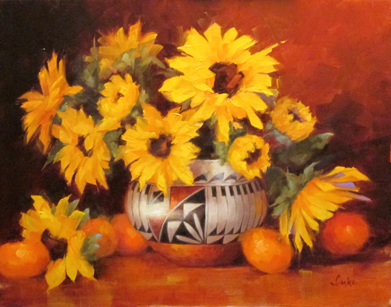Feathers & Sunflowers