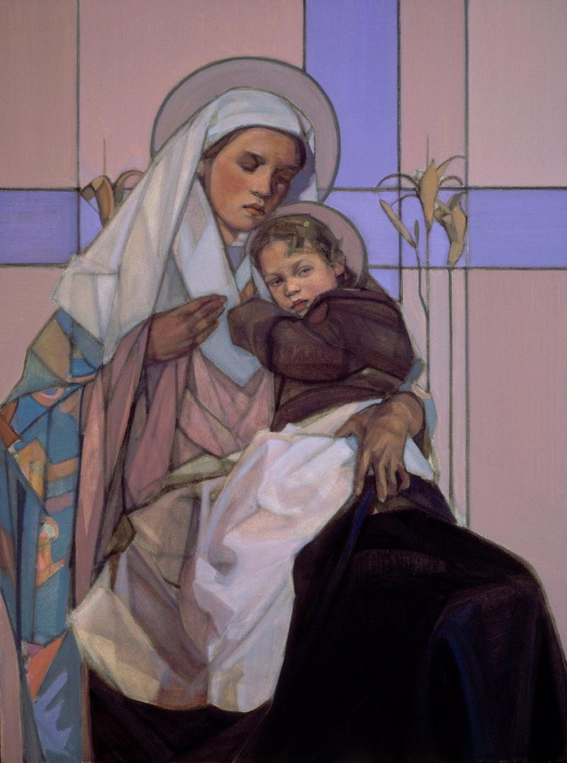 Sacred Madonna and Child