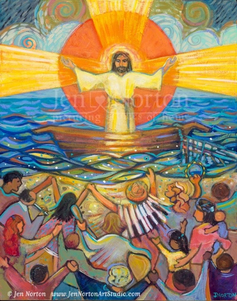 Jesus Preaches to the Choir