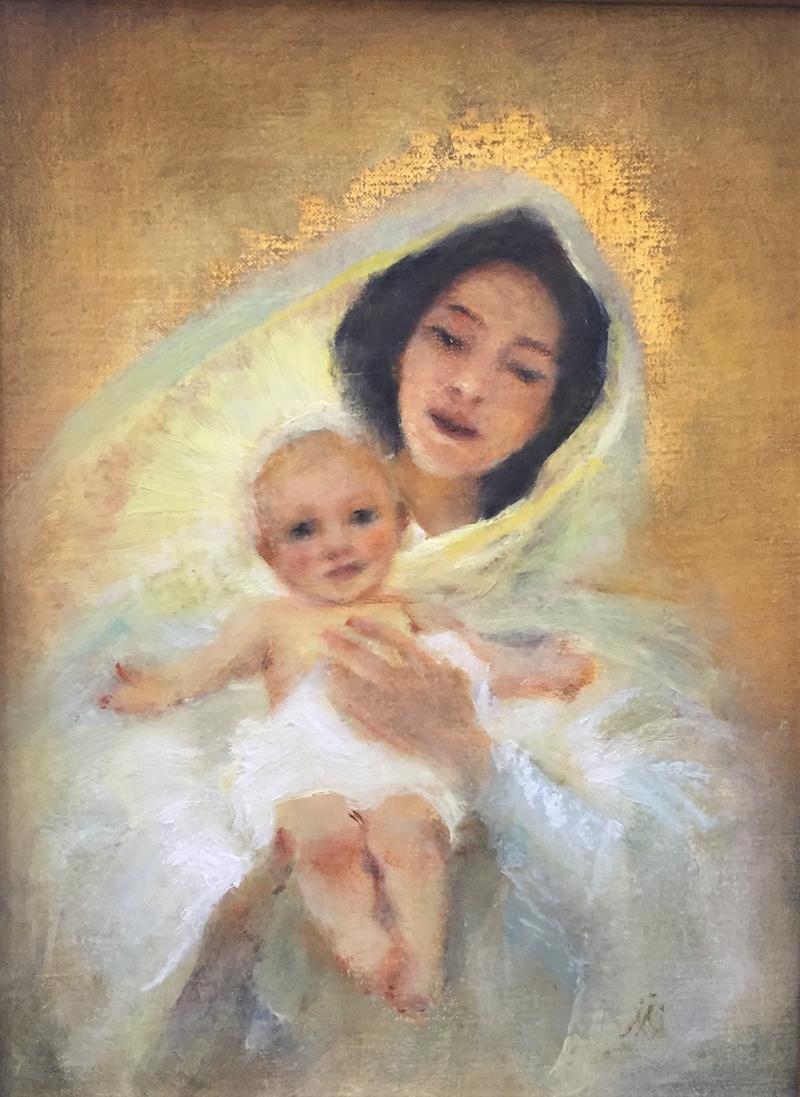 Dvorak's Madonna and Child