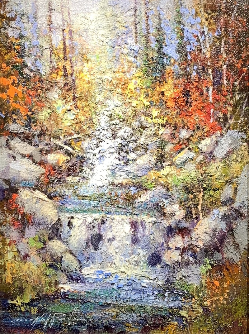 Fall on the Cottonwood Canyon
