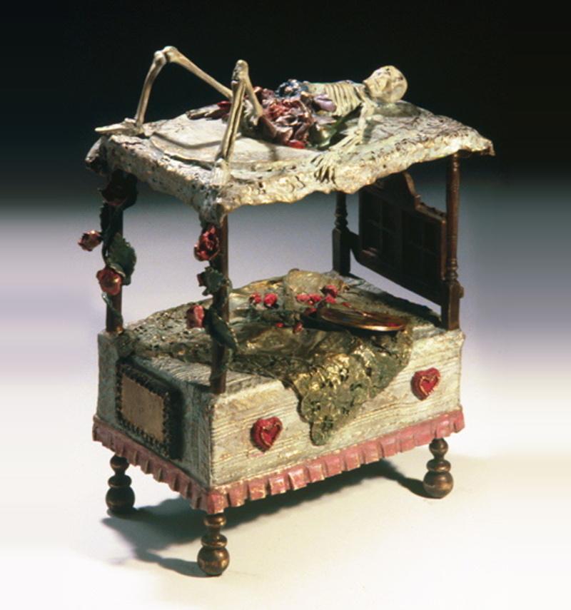 Death Bed Homage to Frida Kahlo