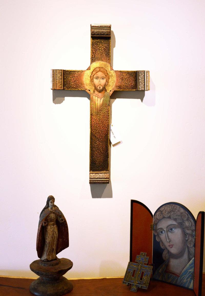 Face of Christ Cross