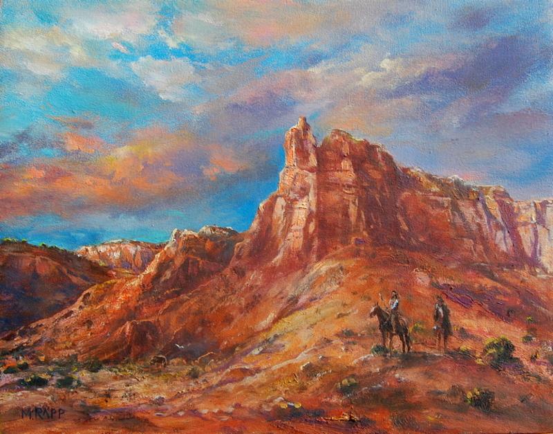 Abiquiu Red Rocks