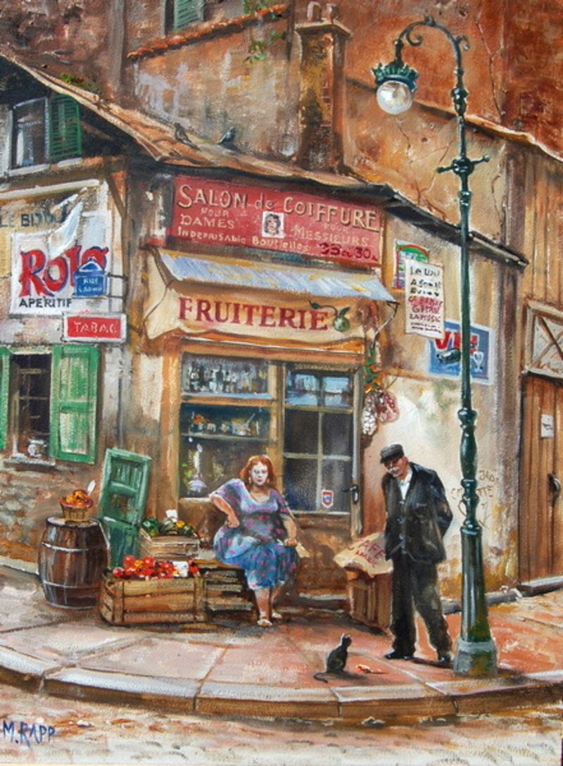 Corner Store in Paris