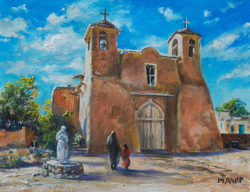 Ranchos Church, Taos