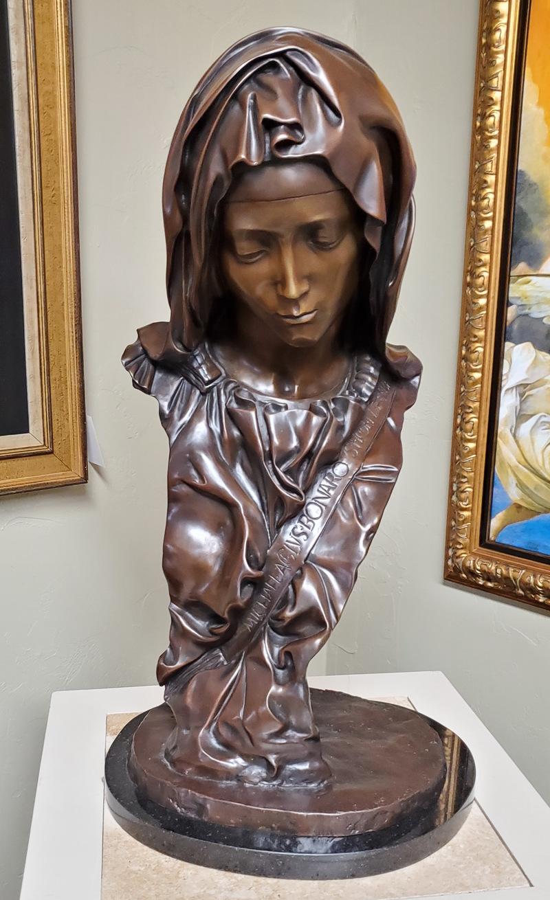 Madonna Bust