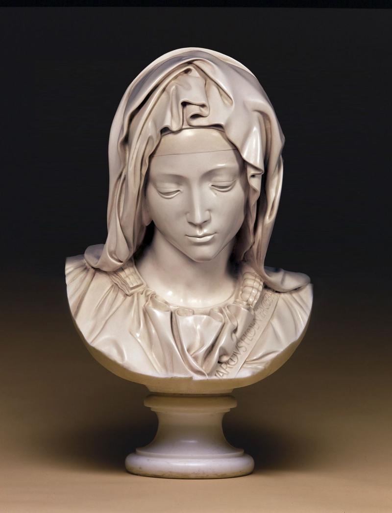 Madonna della Pieta Bust