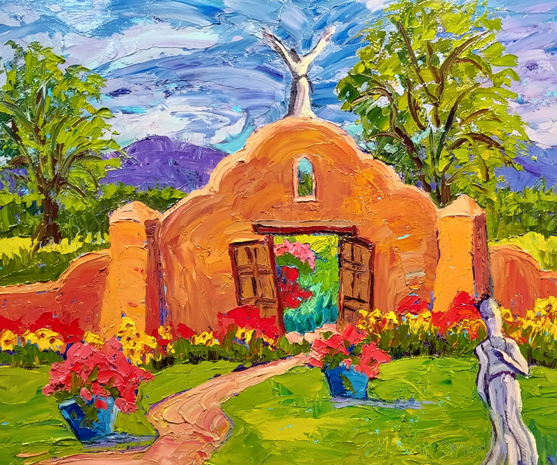 Garden Saints in Taos