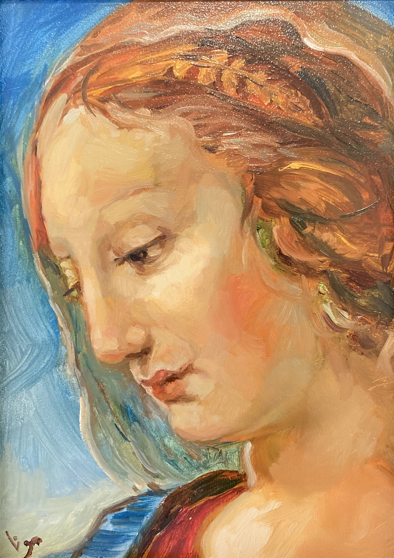 Mary after Raphael