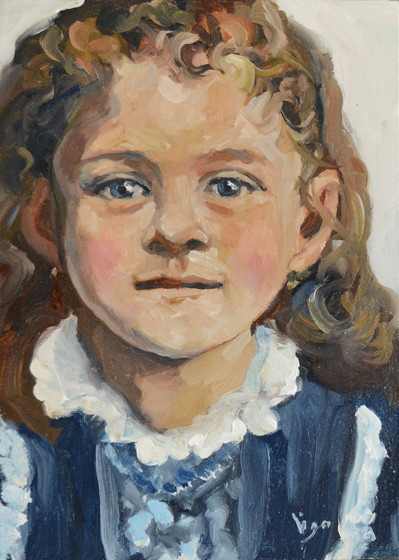 Therese of Lisieux, Child in Blue