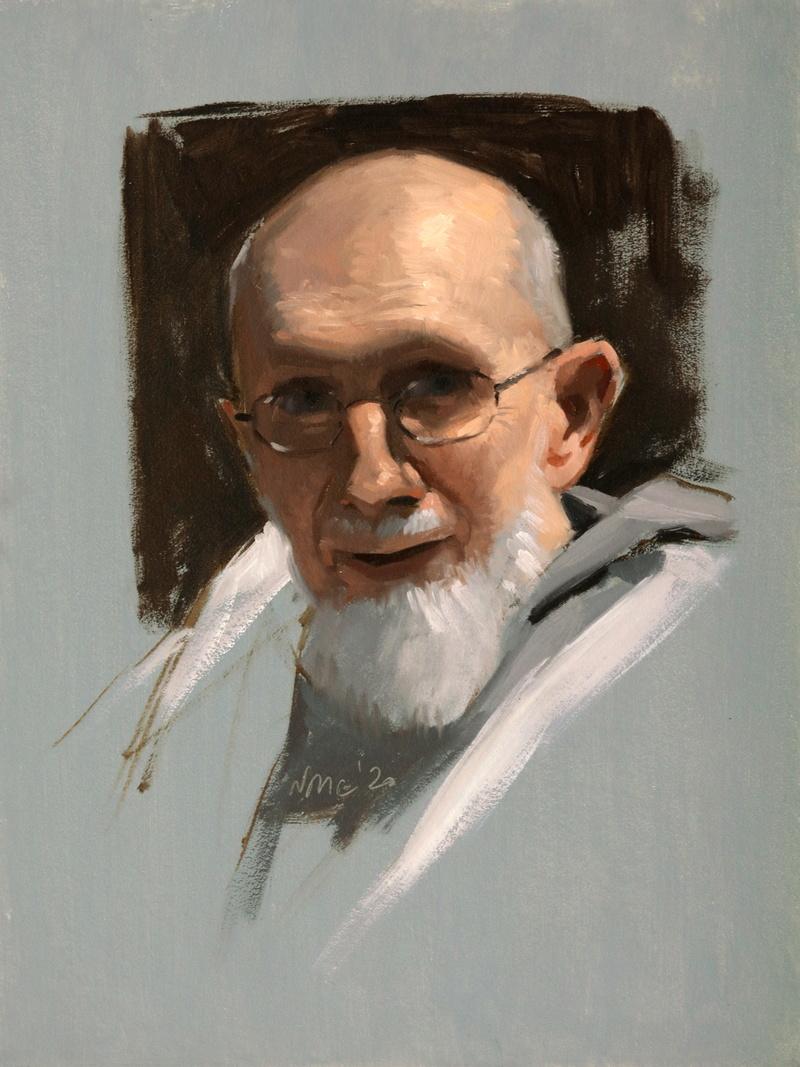 Study of Fr. Benedict Groeschel