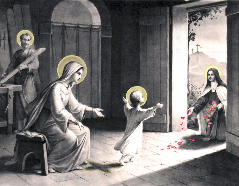 St. Therese Visiting the Holy Family