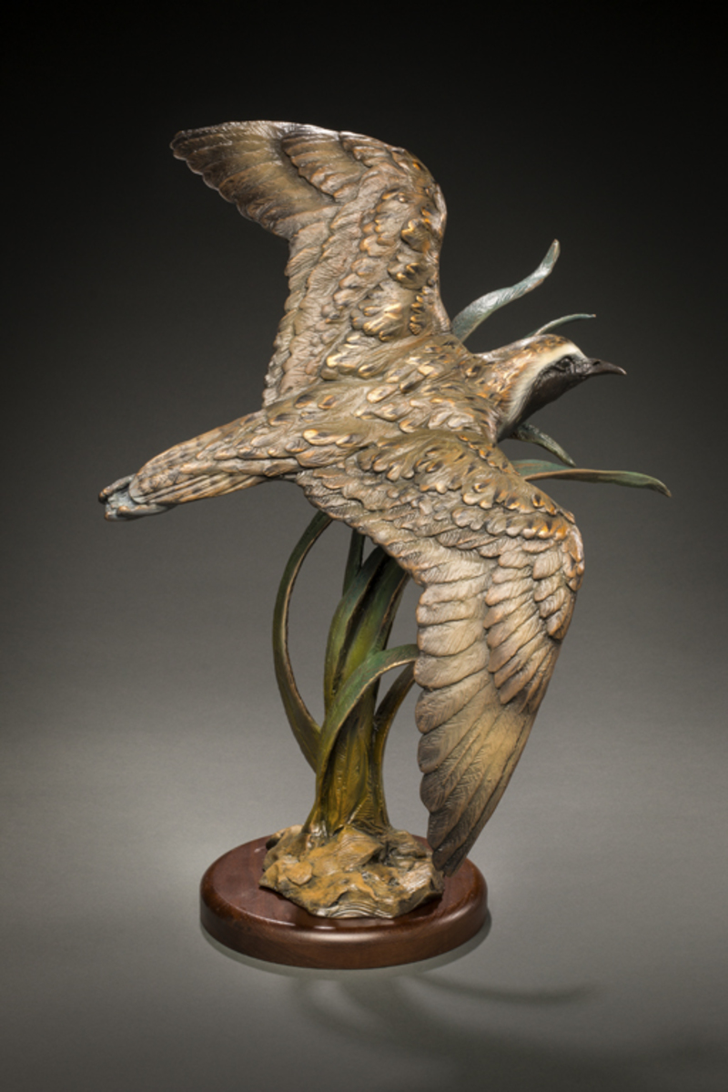 Flying Golden Plover