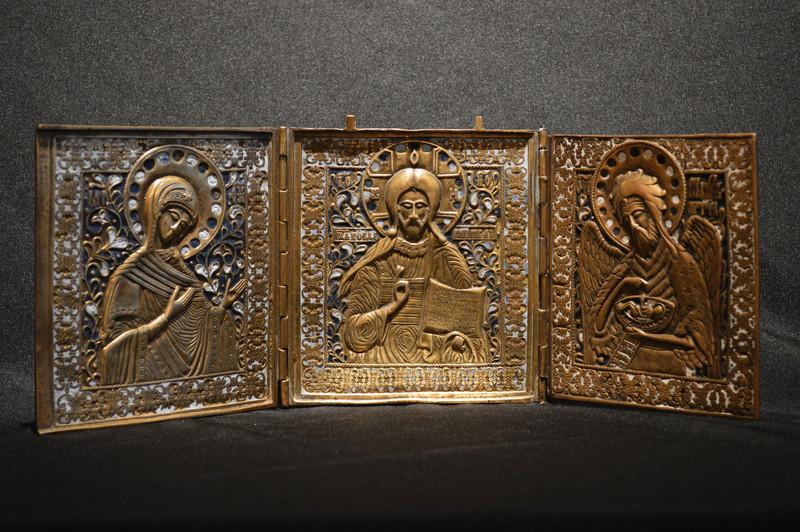 Jesus Teacher Triptych AT01