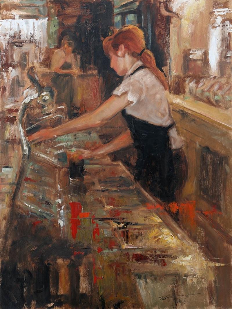 Soda Fountain Girl